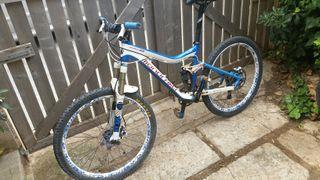 bicicleta montaña mondraker doble