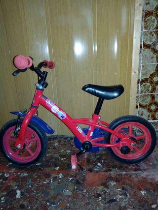 bicicleta Kids iniciación