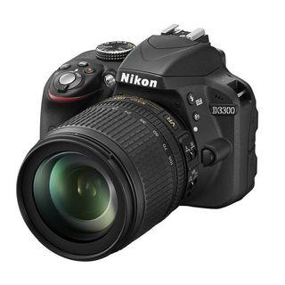 Set Cámara Réflex Nikon D3300 con Accesorios