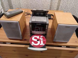Mini cadena musical SONY : CD - Radio - Cassette