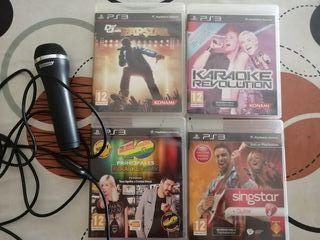 Juegos ps3 karaoke