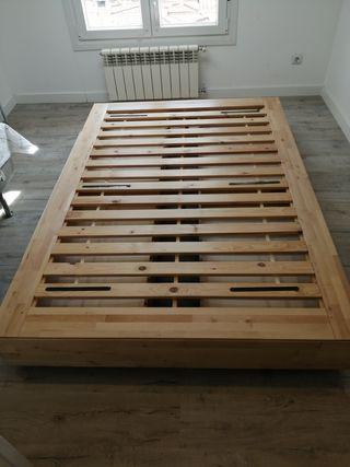 Cama 140 + cabecero Mandal Ikea