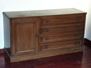 Mueble rustico tv,cómoda,habitación,salón cajones