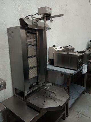maquina kebab 4 quemadores revisada