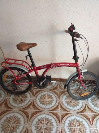 Vendo bicicleta semi-nueva