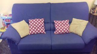 Sofá cama + sillón relax.