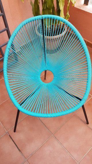 2 Sillas Acapulco Azules