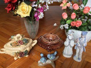 Adornos porcelana