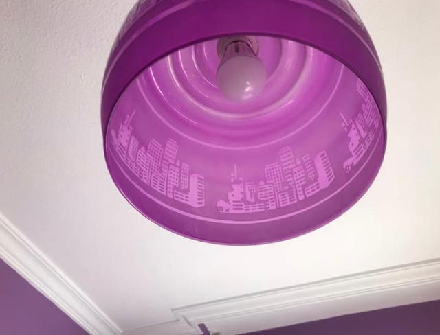 Lámpara dormitorio