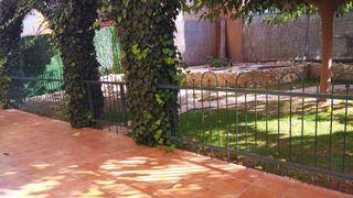 Valla jardín forja