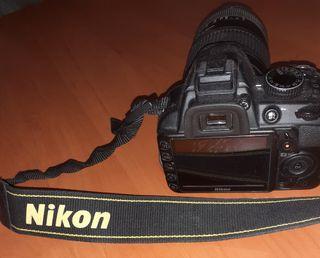 Camara Nikon D3100 + objetivo 70 - 300