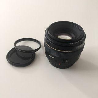 Objetivo Canon 50mm f1.4 muy buen estado