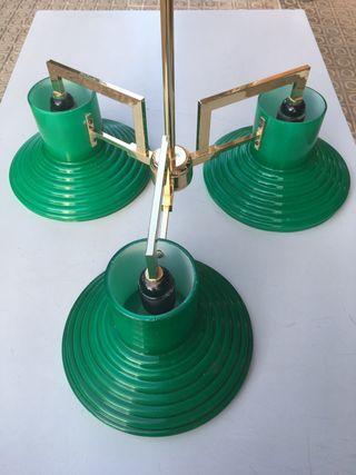 Lámpara de billar. Techo. Vintage