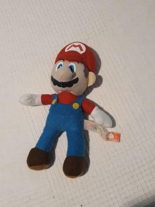 peluche de Mario bros