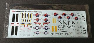 Calcas maqueta P-51 Mustang Korea