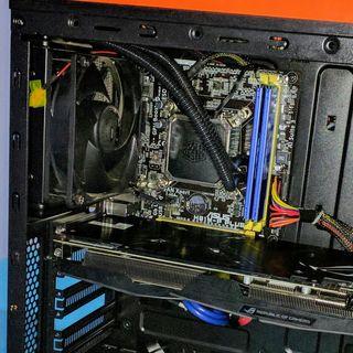 Intel i5 +16g Ram+placa+refrigeración líquida