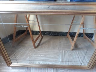 Espejo nuevo grande con marco madera Espejo nuevo
