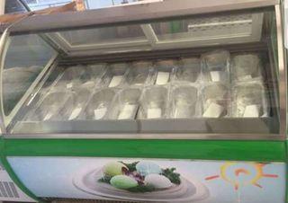 vitrina conservación helados