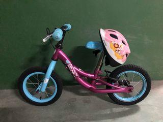 Bicicleta infantil de iniciación