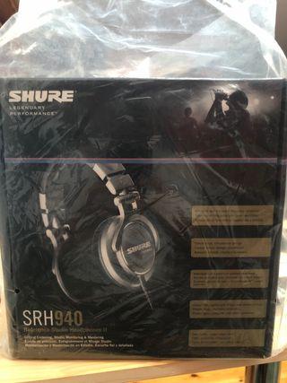 Auriculares Shure SRH940