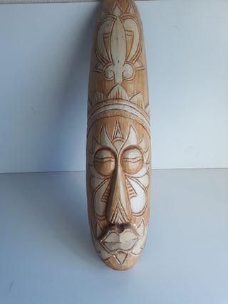 Mascara africana madera, étnica