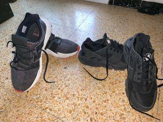 Zapatillas Nike y adidas originales