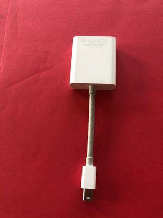 Adaptador APPLE MAC Mini DisplayPort a VGA