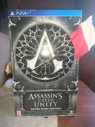 assassins creed unity notre dame edition ps4