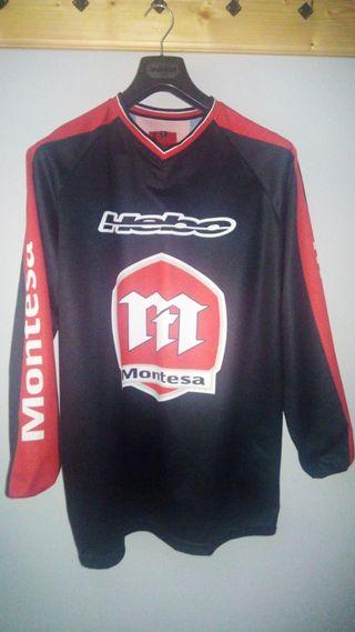 Camiseta trial-enduro adulto Montesa