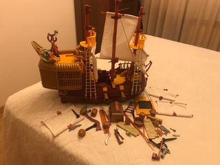 Barco Peter Pan playmobil