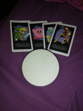 Lector amiibo+4 tarjetas