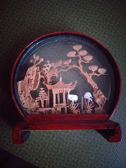 Miniatura China auténtica