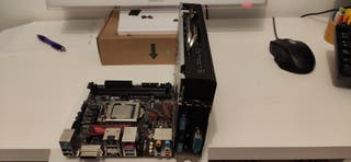 placa base Asus aura Intel i5 6400 Radeon Rx 580
