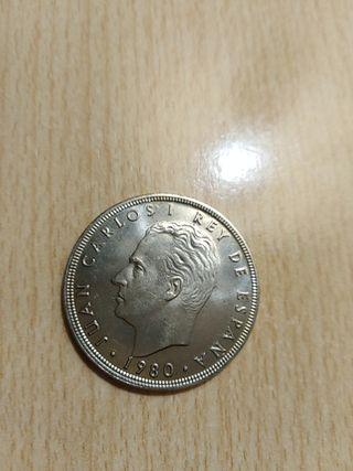 moneda antigua de 100 pesetas