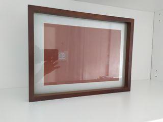 Marco foto madera