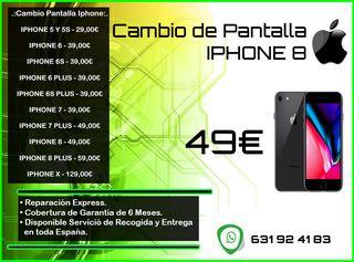 Cambio de Pantalla Iphone 8 Tienda
