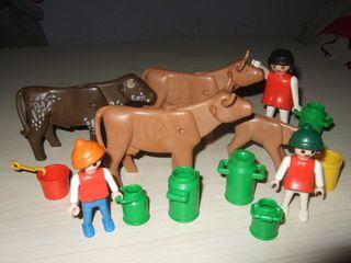 Lote playmobil vacas