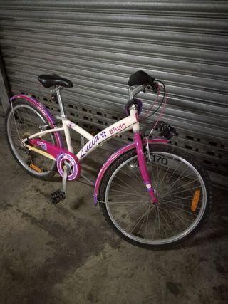 "Bicicleta btwin 24"""