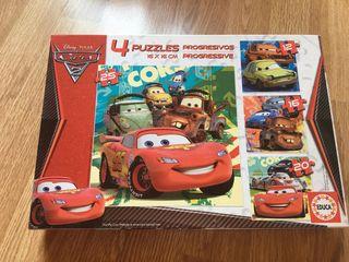 4 puzzles Mc Queen