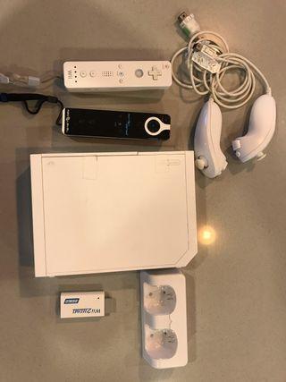 Nintendo Wii + accesorios ++
