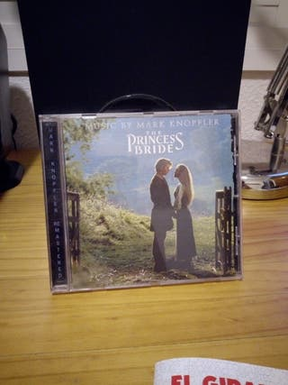 CD La Princesa Prometida banda sonora