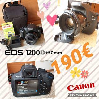 camara reflex canon 1200D