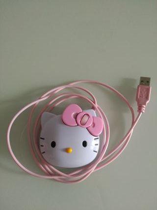 Ratón Hello Kitty. SIN USAR.