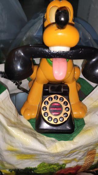 telefono pluto antiguo