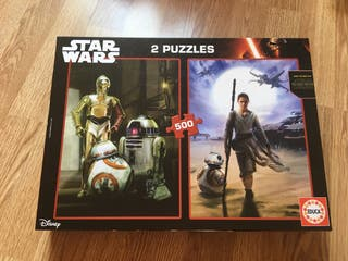 2 puzzles Star Wars