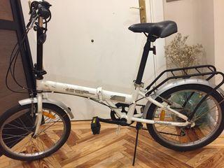 Bicicleta Boomerang aluminio plegable