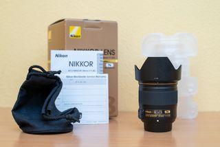 Objetivo NUEVO Nikkor Af-s 28mm 1.8G Nikon