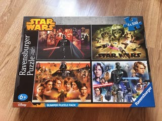 4 puzzles Star Wars