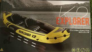 kayak inflable Intex Explorer K2