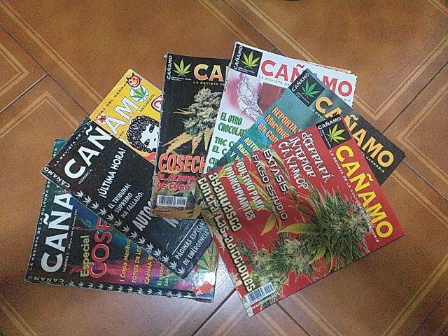 Pack revistas Cáñamo primeras ediciones